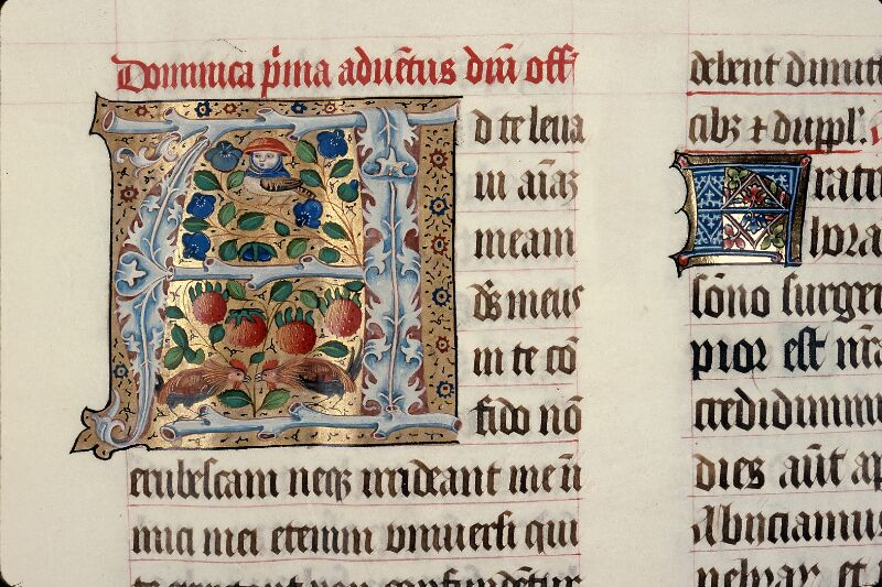 Evreux, Bibl. mun., ms. lat. 098, f. 009 - vue 2