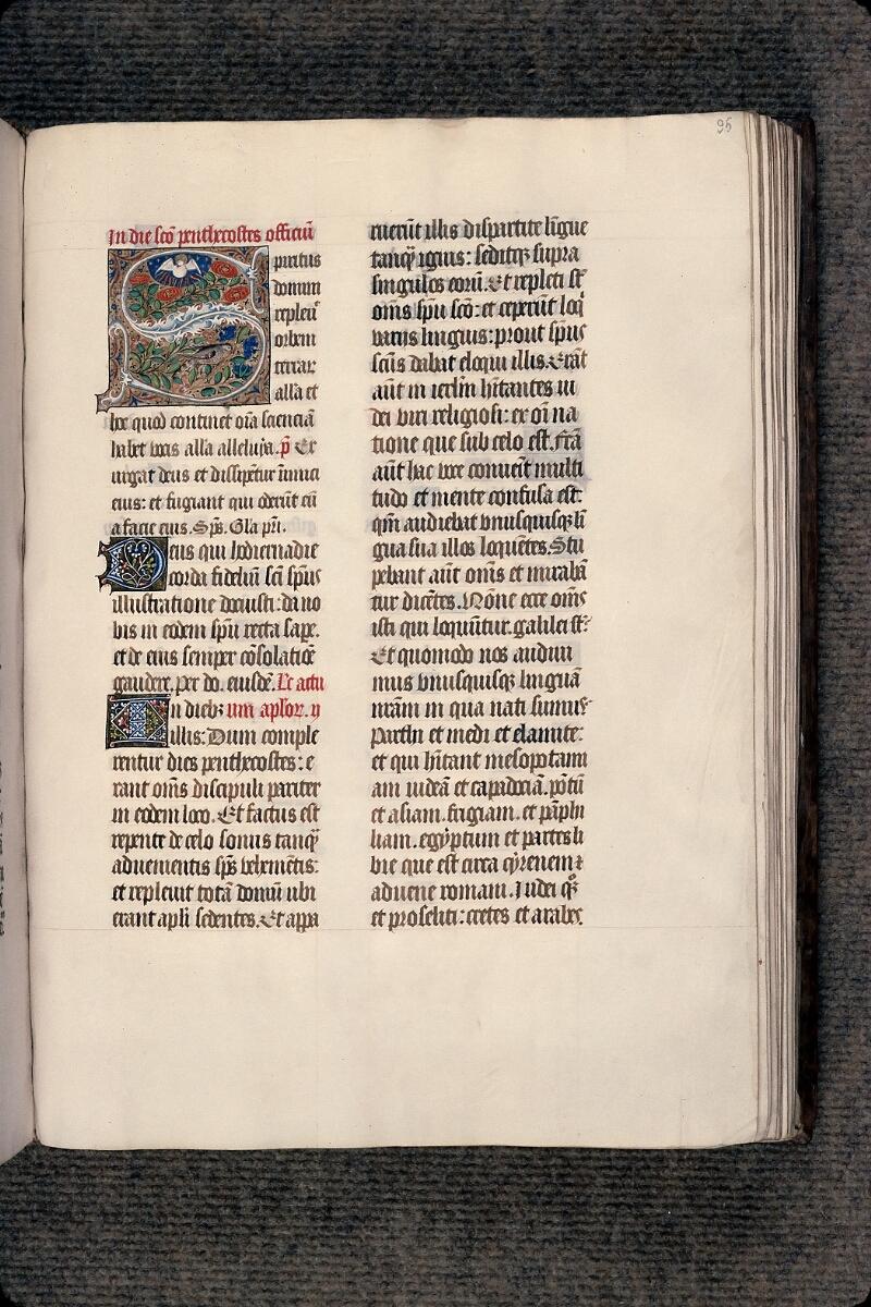 Evreux, Bibl. mun., ms. lat. 098, f. 095 - vue 1