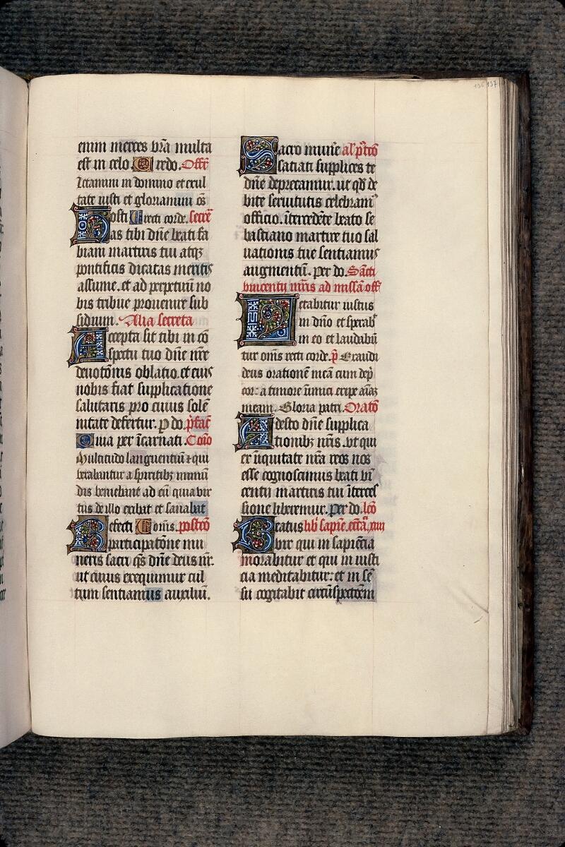 Evreux, Bibl. mun., ms. lat. 098, f. 136
