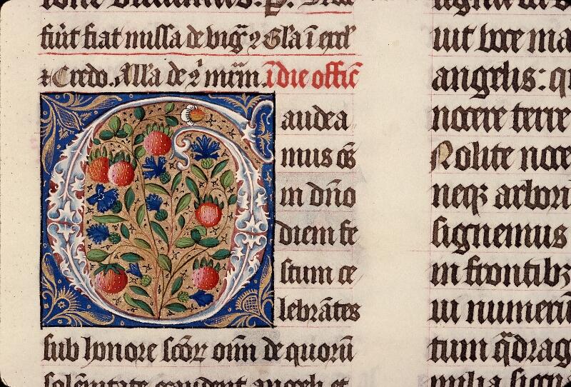Evreux, Bibl. mun., ms. lat. 098, f. 176