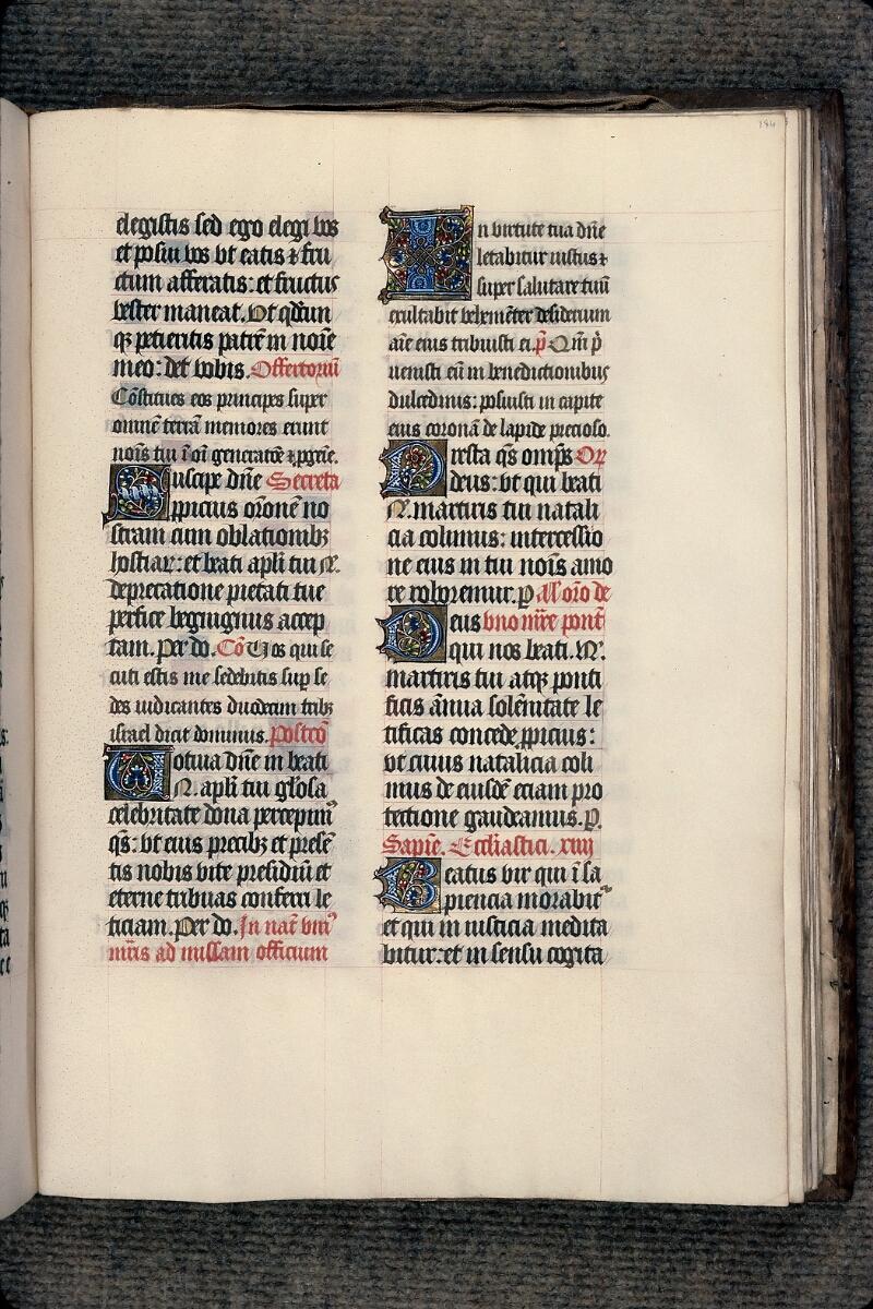 Evreux, Bibl. mun., ms. lat. 098, f. 184