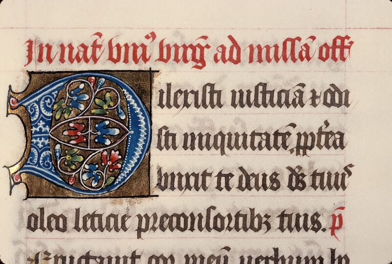 Evreux, Bibl. mun., ms. lat. 098, f. 189 - vue 1
