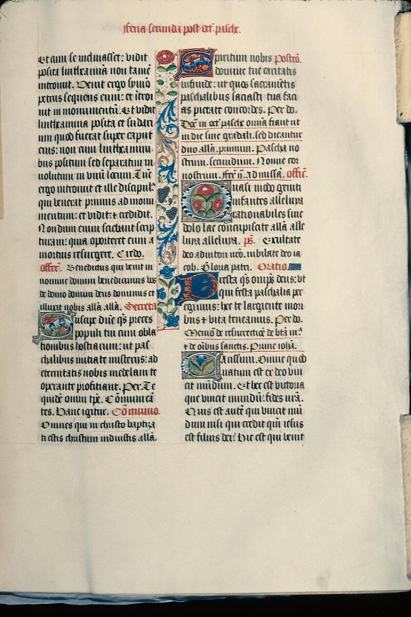 Evreux, Bibl. mun., ms. lat. 099, f. 015