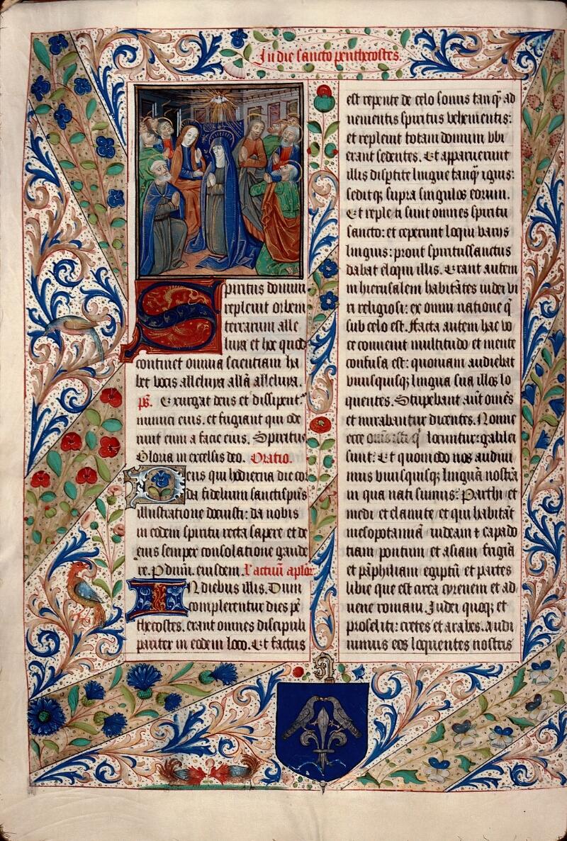 Evreux, Bibl. mun., ms. lat. 099, f. 028v - vue 1