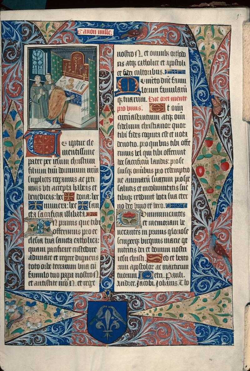 Evreux, Bibl. mun., ms. lat. 099, f. 092 - vue 1