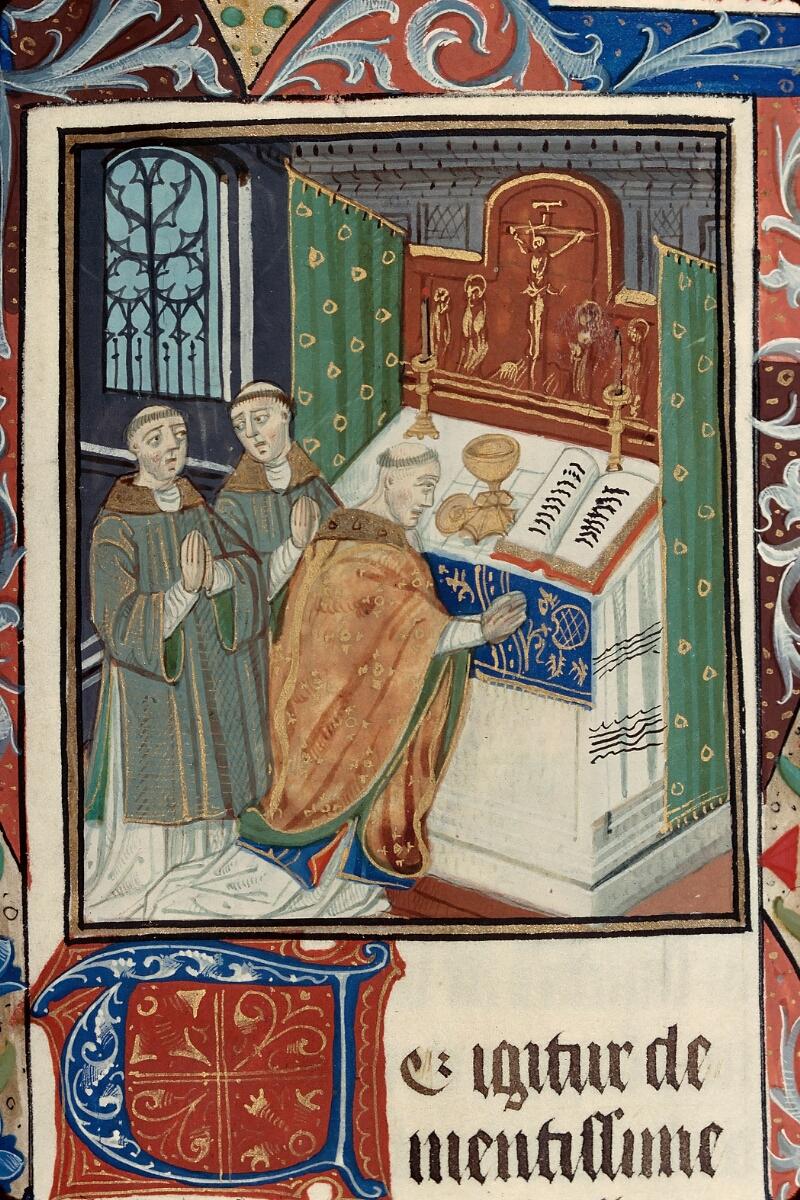 Evreux, Bibl. mun., ms. lat. 099, f. 092 - vue 2