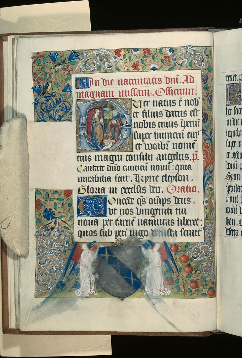Evreux, Bibl. mun., ms. lat. 100, f. 019v - vue 1