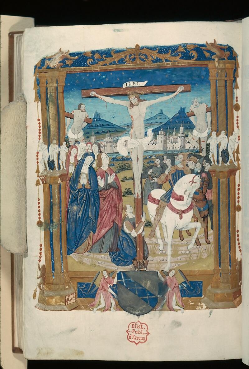 Evreux, Bibl. mun., ms. lat. 100, f. 165v - vue 1