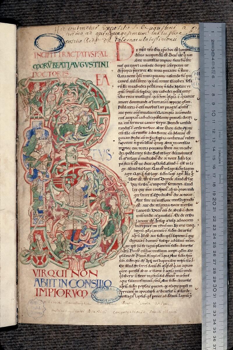 Evreux, Bibl. mun., ms. lat. 131, f. 001 - vue 1