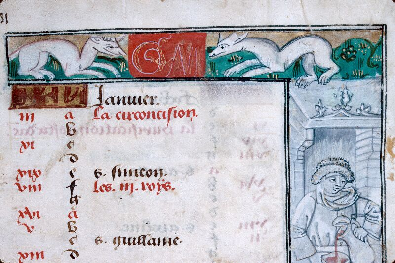 Abbeville, Bibl. mun., ms. 0016, f. 001 - vue 2