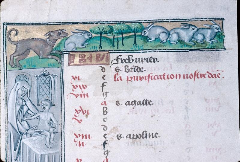 Abbeville, Bibl. mun., ms. 0016, f. 001v - vue 2