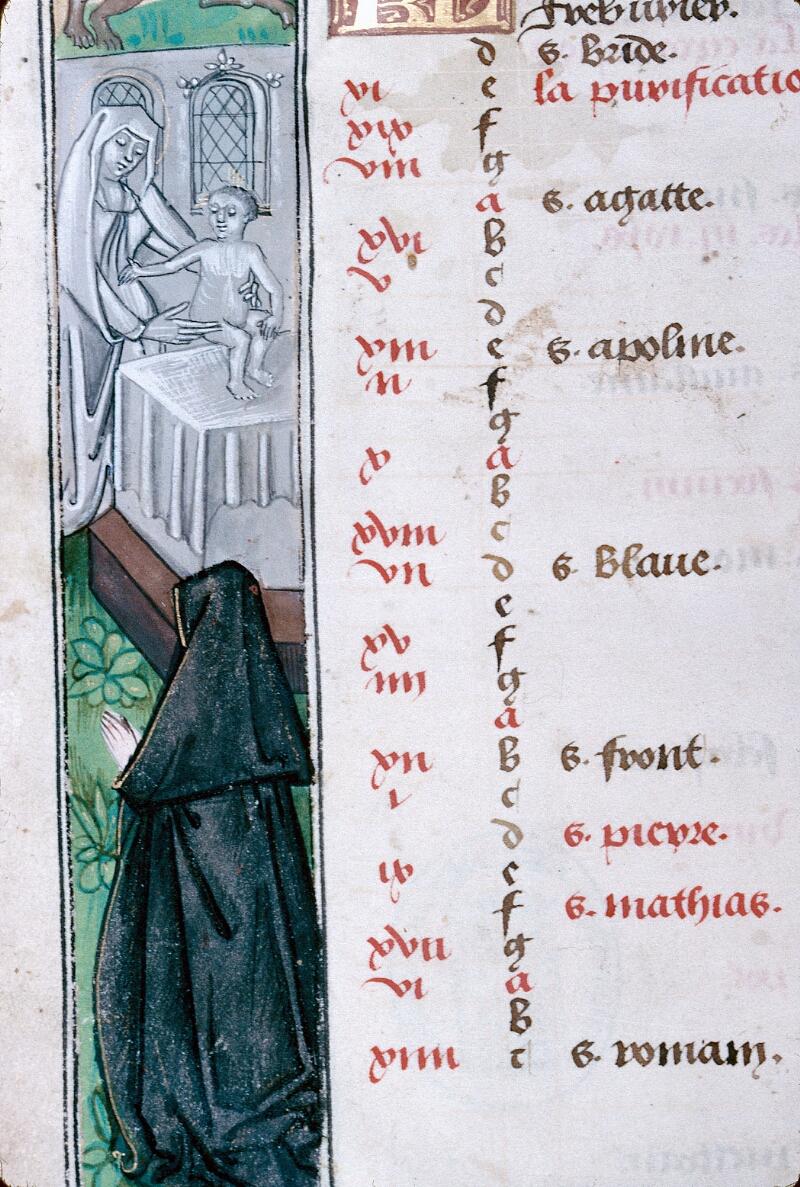 Abbeville, Bibl. mun., ms. 0016, f. 001v - vue 3