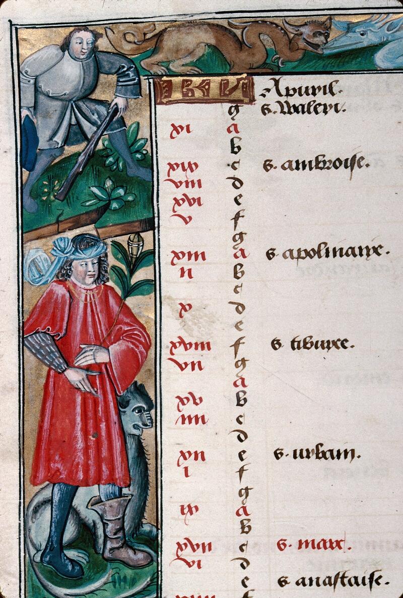 Abbeville, Bibl. mun., ms. 0016, f. 002v - vue 2