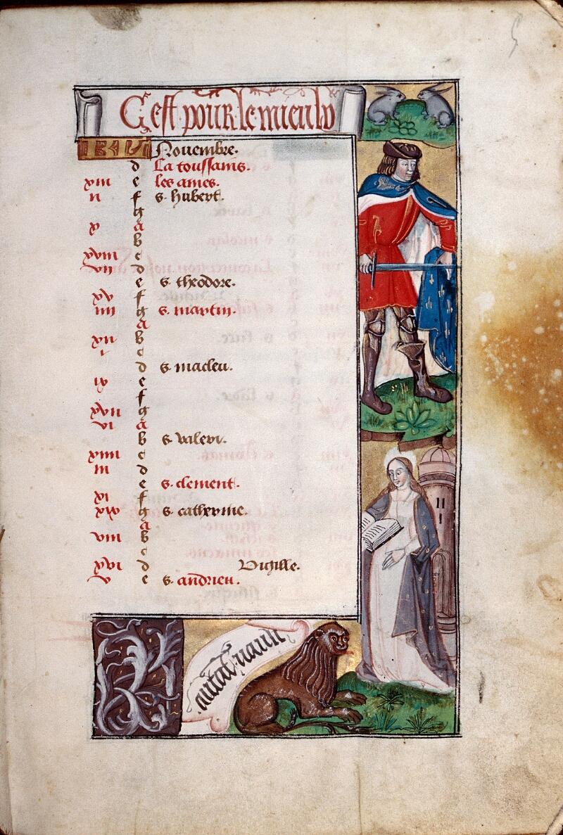 Abbeville, Bibl. mun., ms. 0016, f. 005 - vue 1