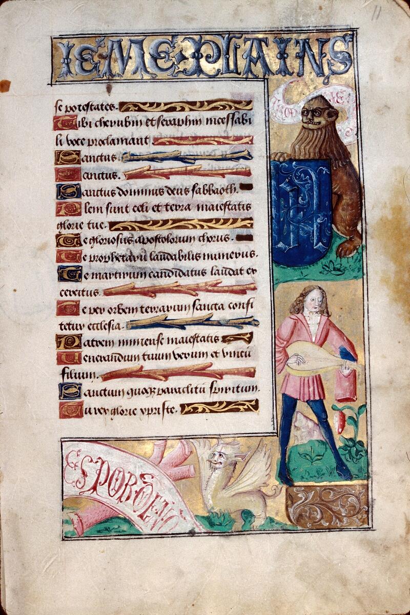 Abbeville, Bibl. mun., ms. 0016, f. 011 - vue 1