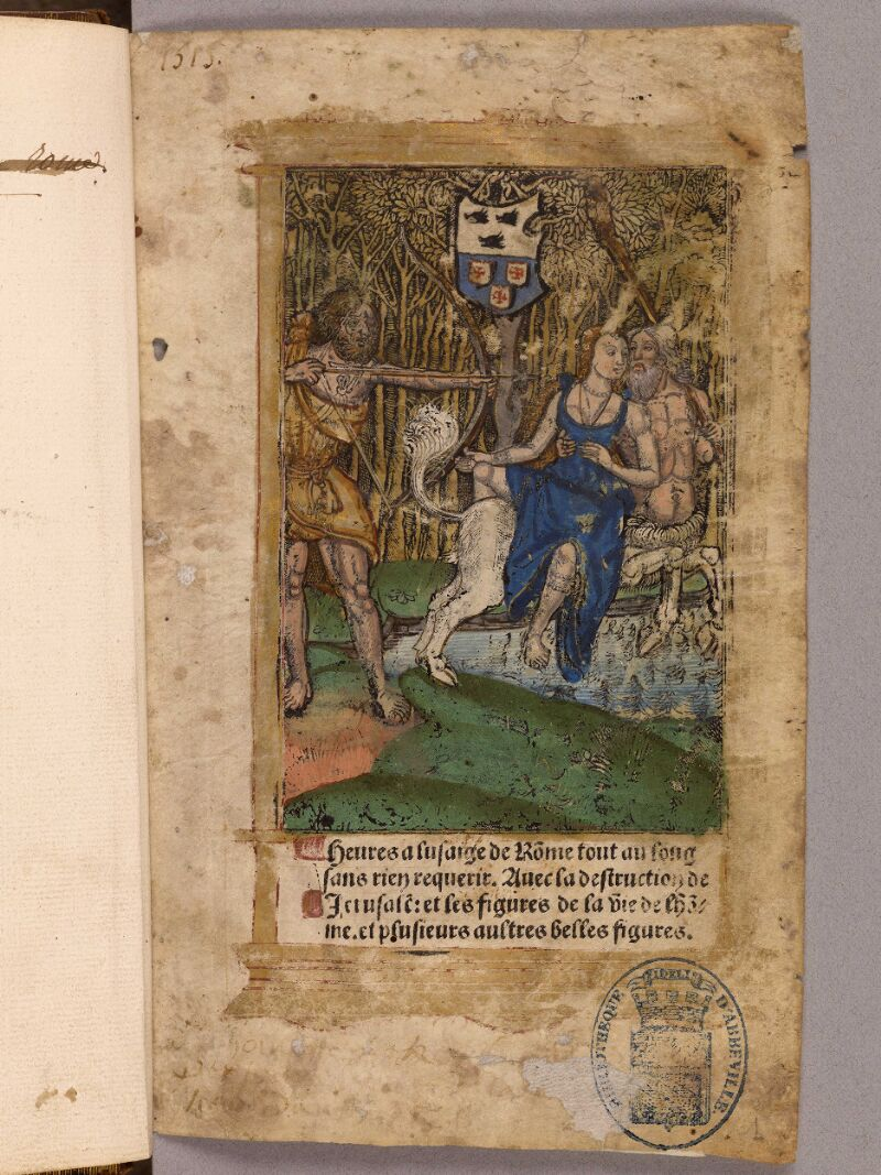 Abbeville, Bibl. mun., impr. FA 16 in 8° 280, f. 001 - vue 2