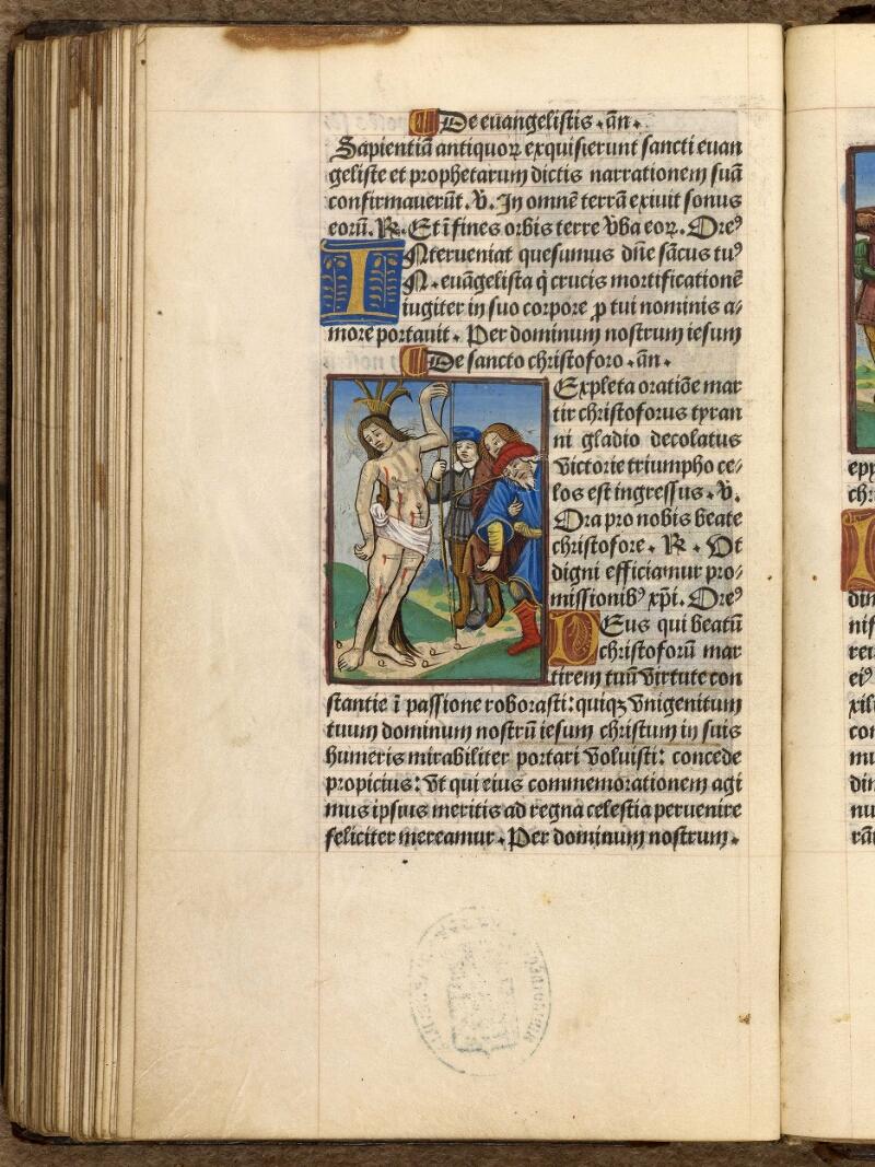 Abbeville, Bibl. mun., impr. FA 16 in 8° 281, f. 100v - vue 1