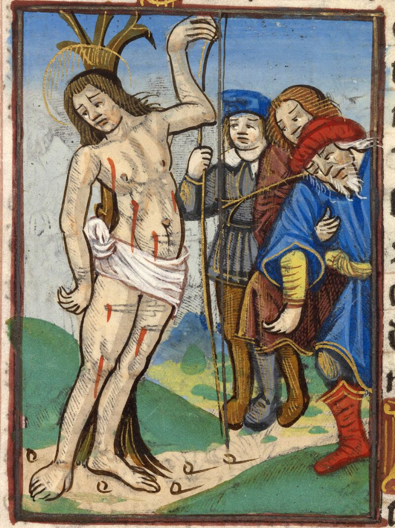 Abbeville, Bibl. mun., impr. FA 16 in 8° 281, f. 100v - vue 2