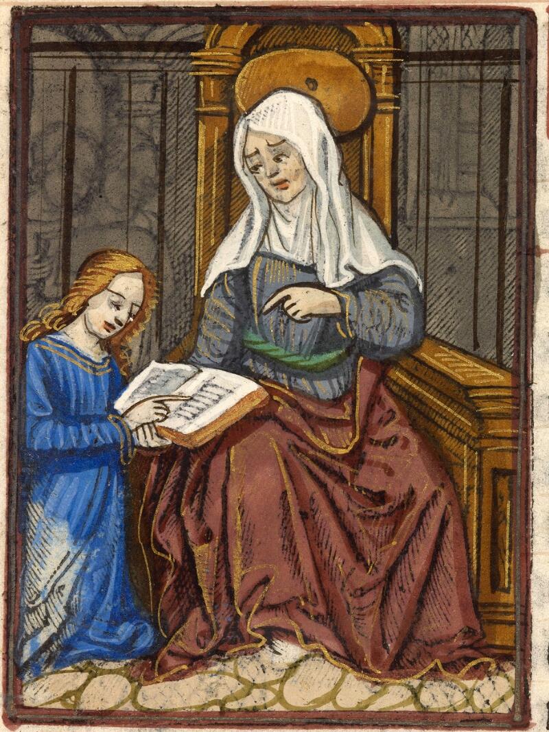 Abbeville, Bibl. mun., impr. FA 16 in 8° 281, f. 105 - vue 2