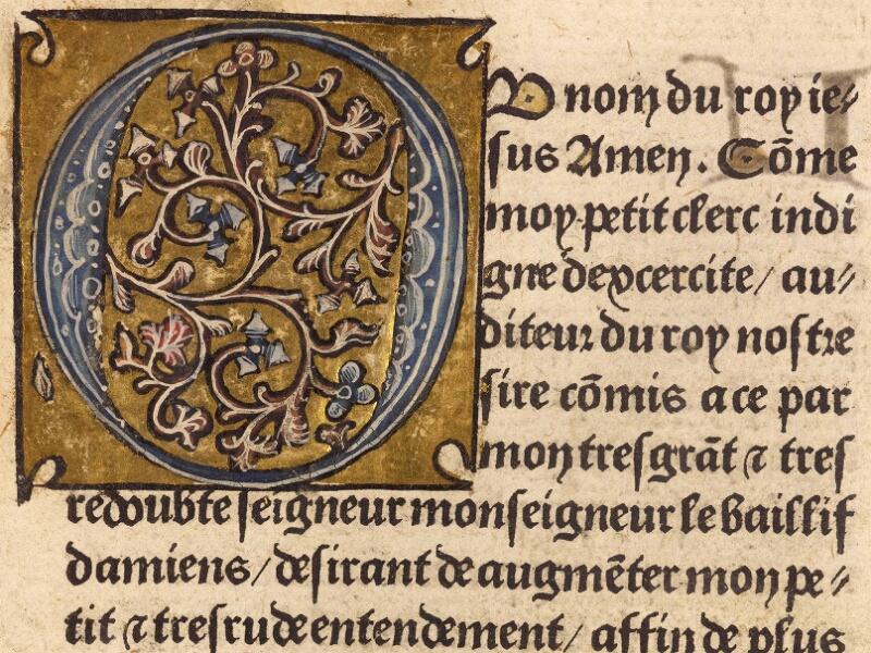 Abbeville, Bibl. mun., inc. 001, f. 001 - vue 3