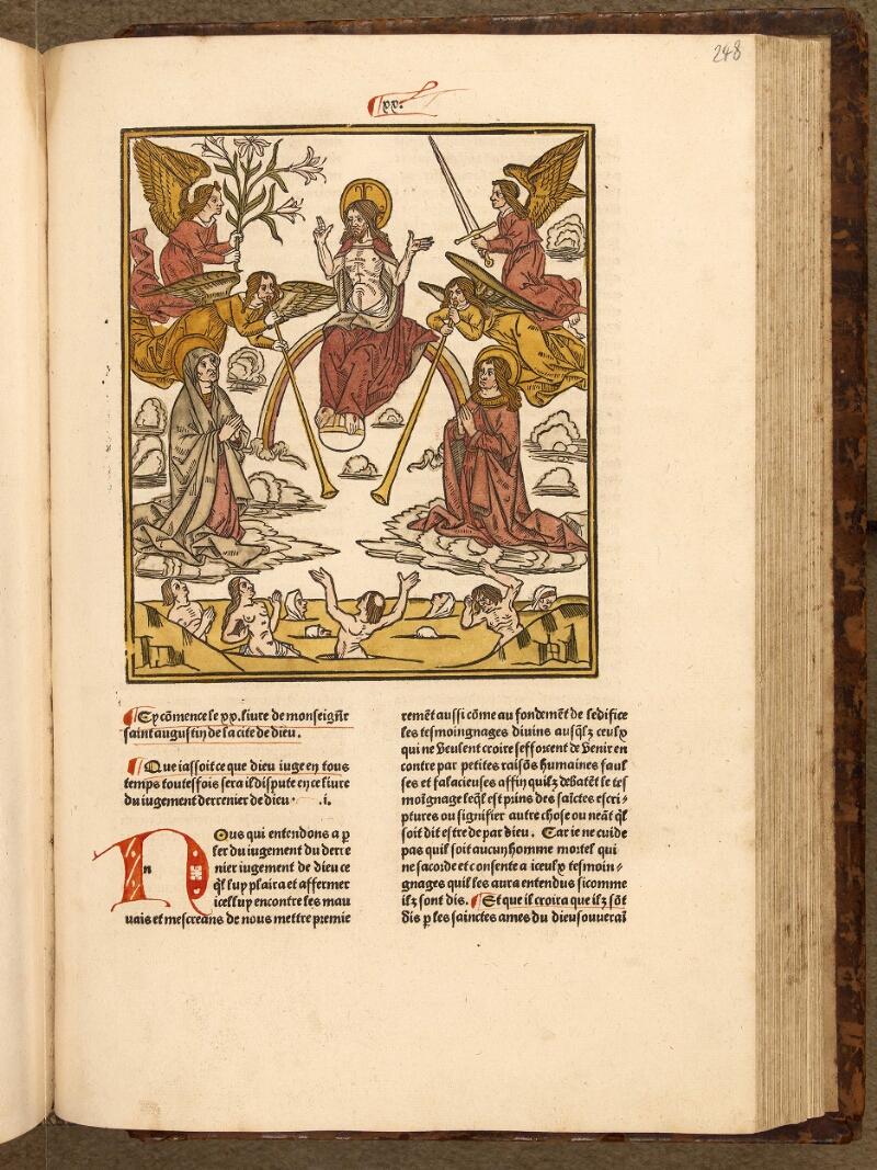 Abbeville, Bibl. mun., inc. 002, t. II, f. 248 - vue 1