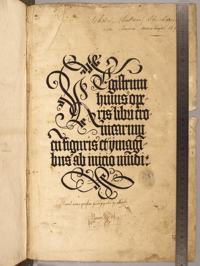 Abbeville, Bibl. mun., inc. 003, f. 000B - vue 1