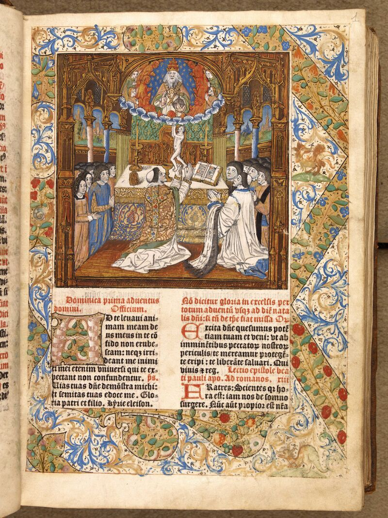 Abbeville, Bibl. mun., inc. 046, A f. 001 - vue 1