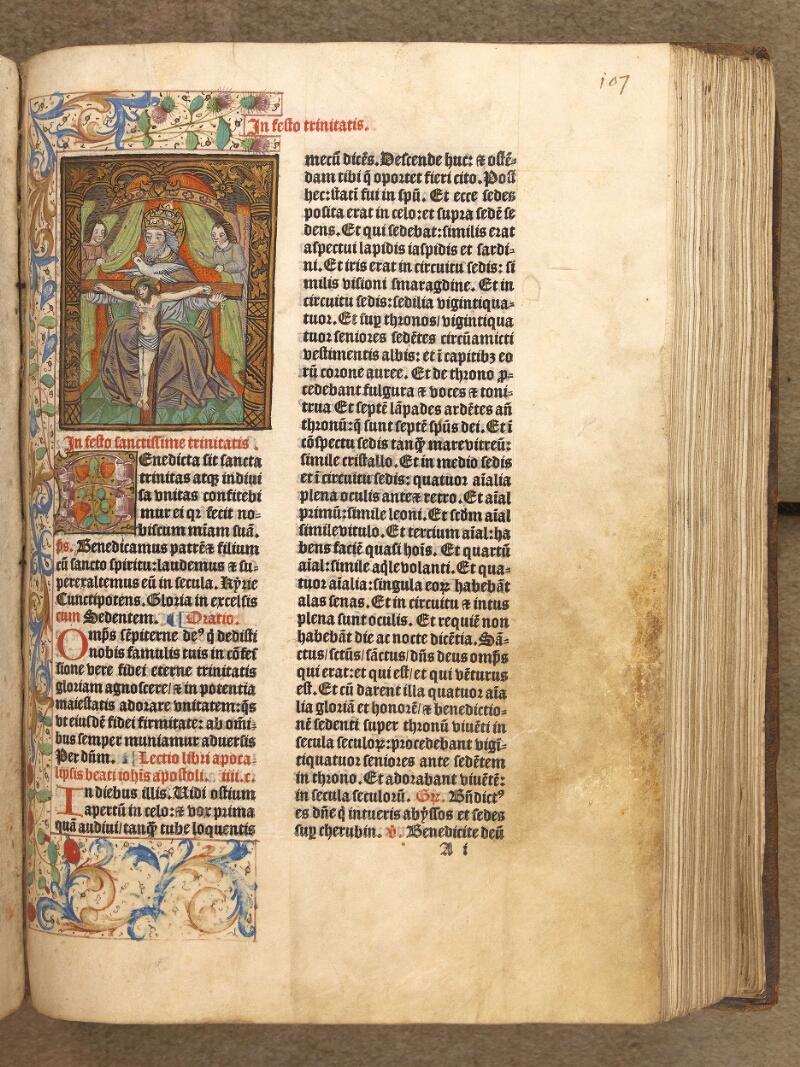 Abbeville, Bibl. mun., inc. 046, A f. 107 - vue 1