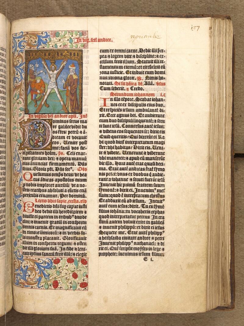 Abbeville, Bibl. mun., inc. 046, A f. 137 - vue 1