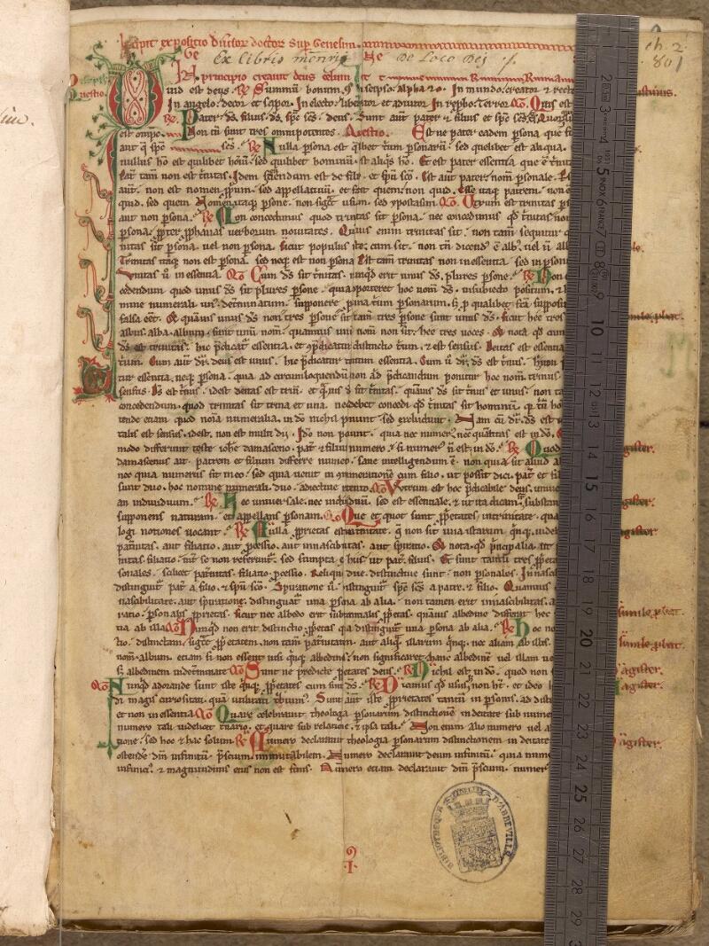 Abbeville, Bibl. mun., ms. 0002, f. 001 - vue 1