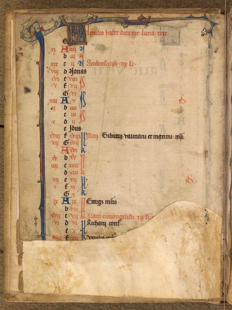 Abbeville, Bibl. mun., ms. 0003, f. 002v - vue 1