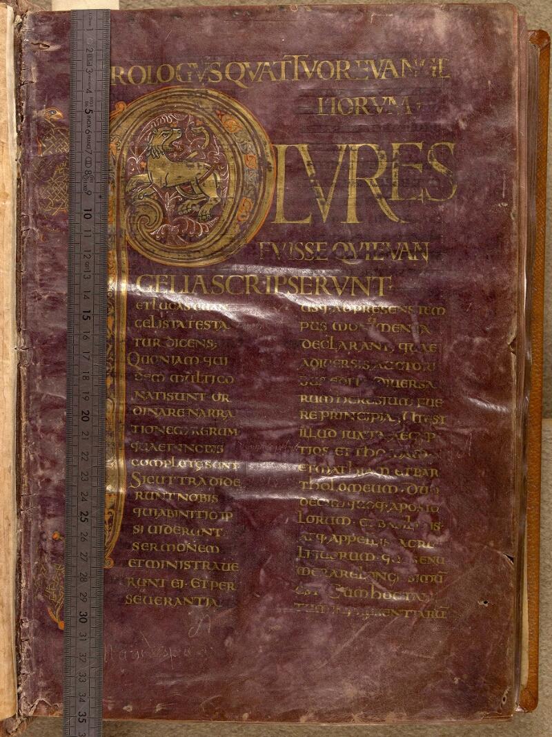 Abbeville, Bibl. mun., ms. 0004, f. 001 - vue 1