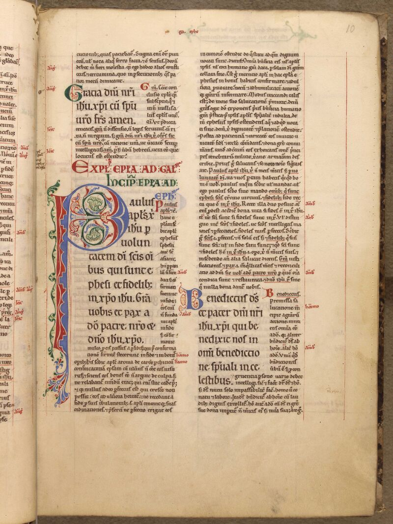 Abbeville, Bibl. mun., ms. 0005, f. 010 - vue 1