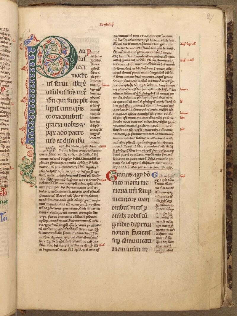 Abbeville, Bibl. mun., ms. 0005, f. 027 - vue 1