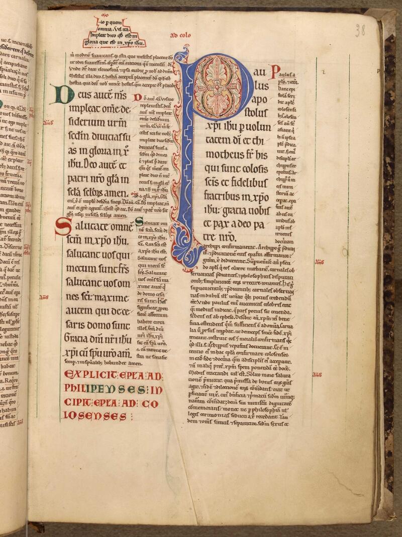 Abbeville, Bibl. mun., ms. 0005, f. 038 - vue 1