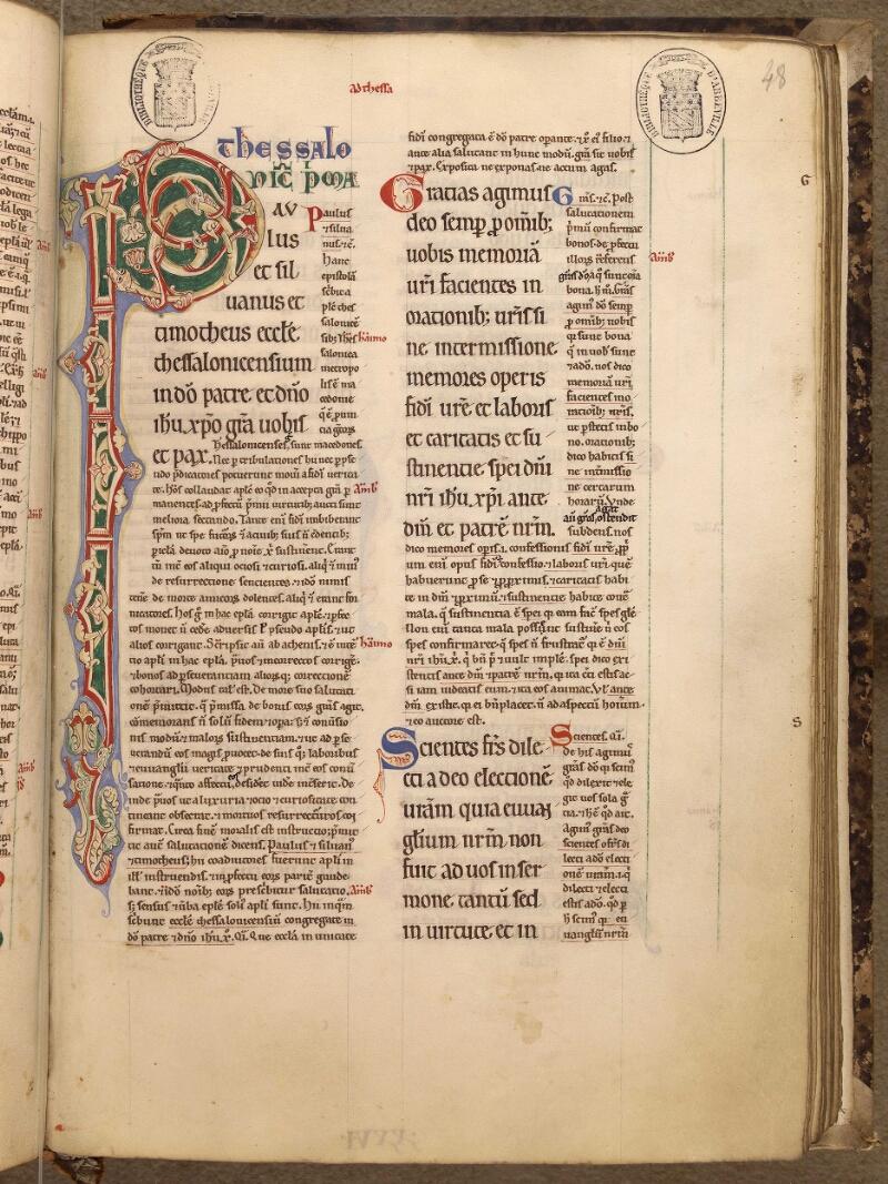 Abbeville, Bibl. mun., ms. 0005, f. 048 - vue 1