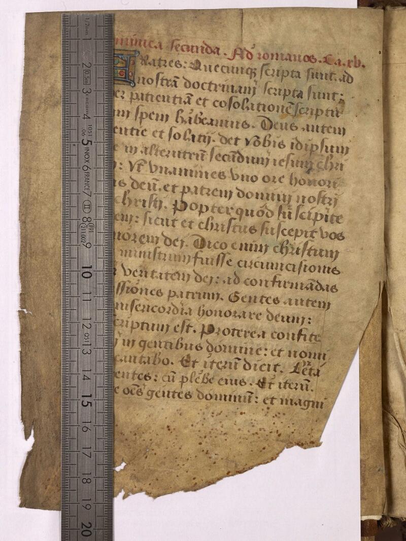 Abbeville, Bibl. mun., ms. 0006, f. 001v - vue 1