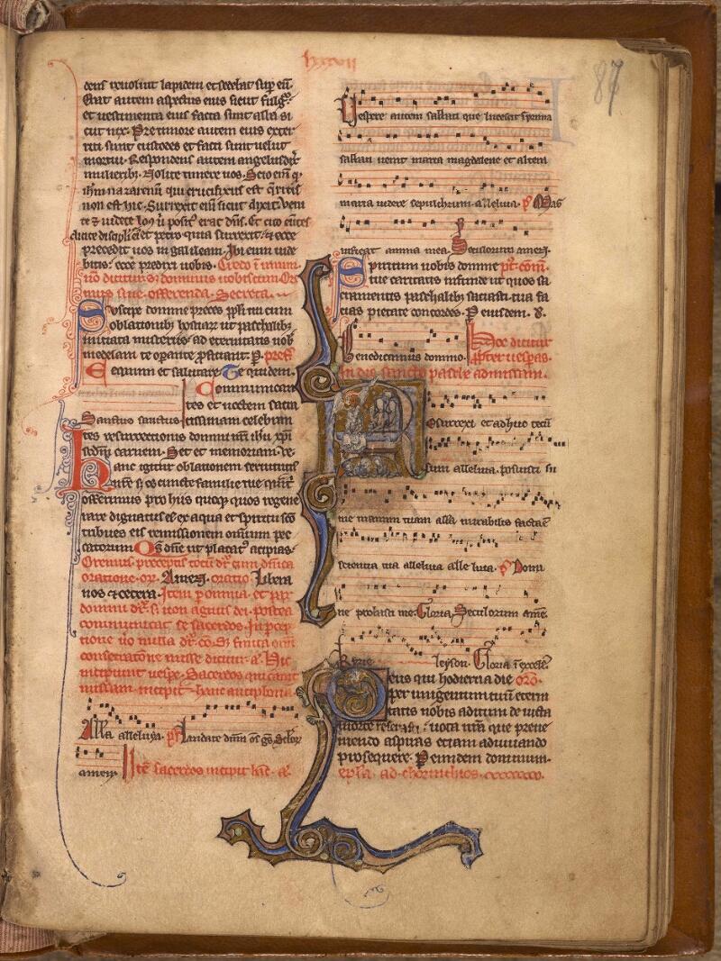 Abbeville, Bibl. mun., ms. 0007, f. 087 - vue 1
