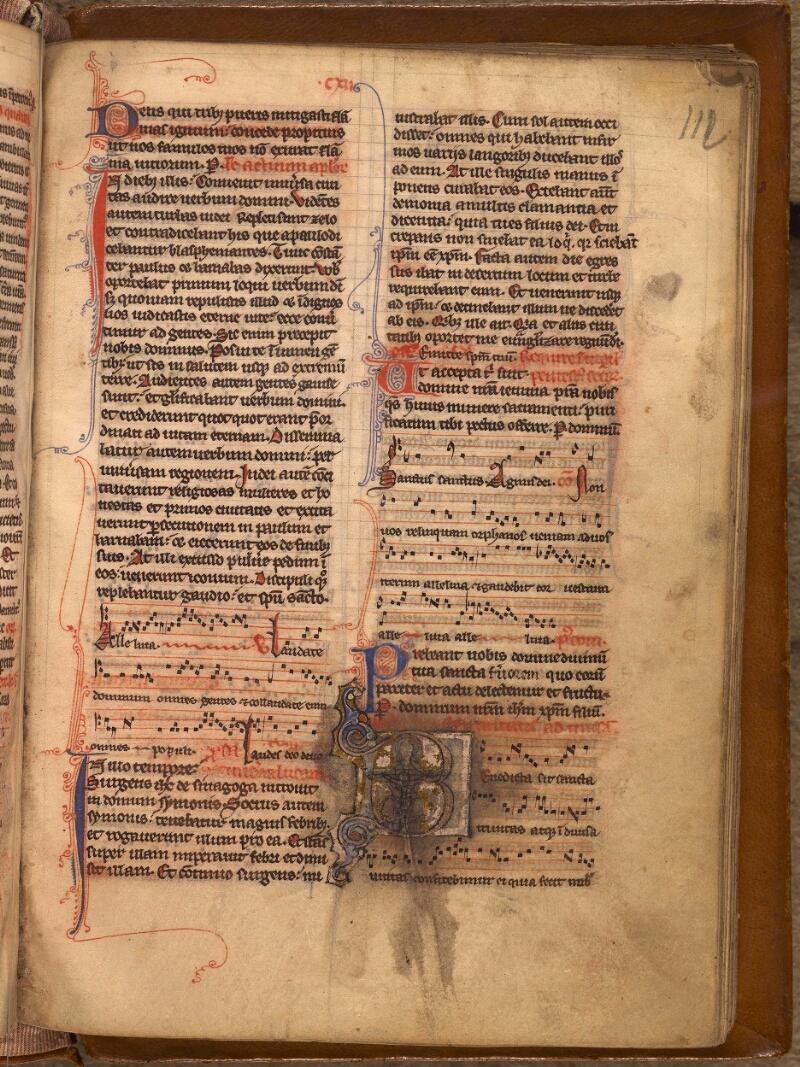 Abbeville, Bibl. mun., ms. 0007, f. 112 - vue 1
