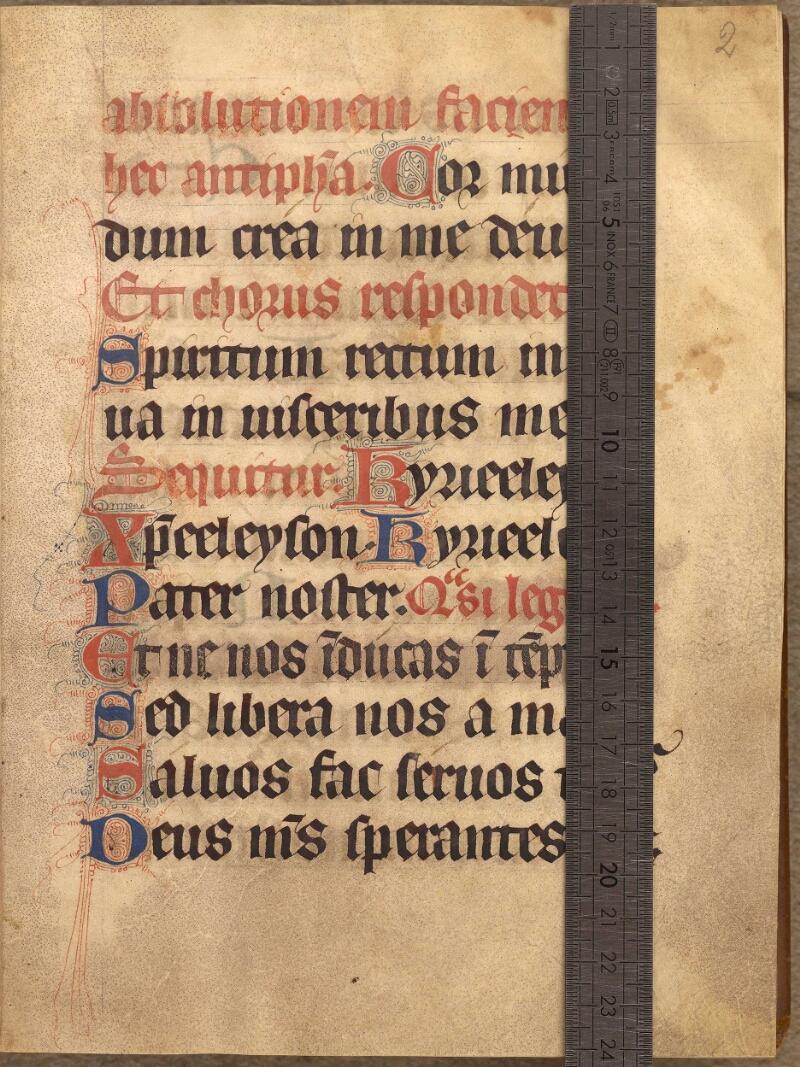 Abbeville, Bibl. mun., ms. 0008, f. 002 - vue 1