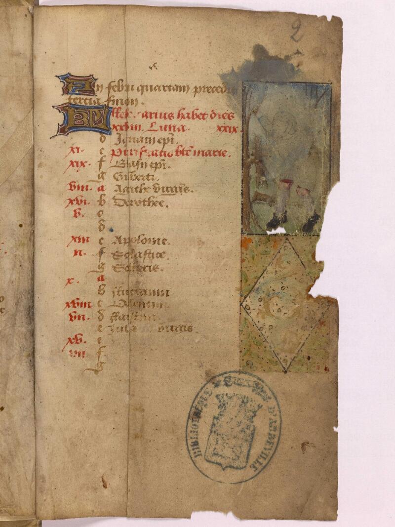 Abbeville, Bibl. mun., ms. 0012, f. 002 - vue 1