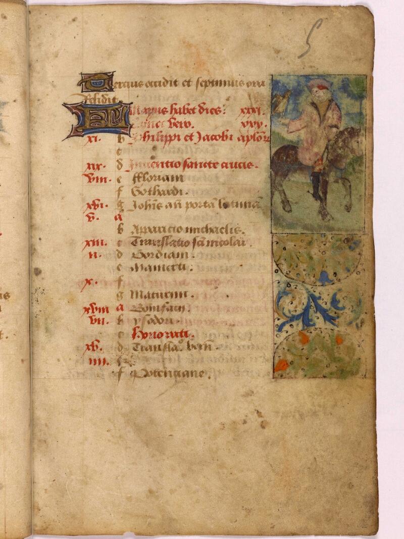 Abbeville, Bibl. mun., ms. 0012, f. 005 - vue 1