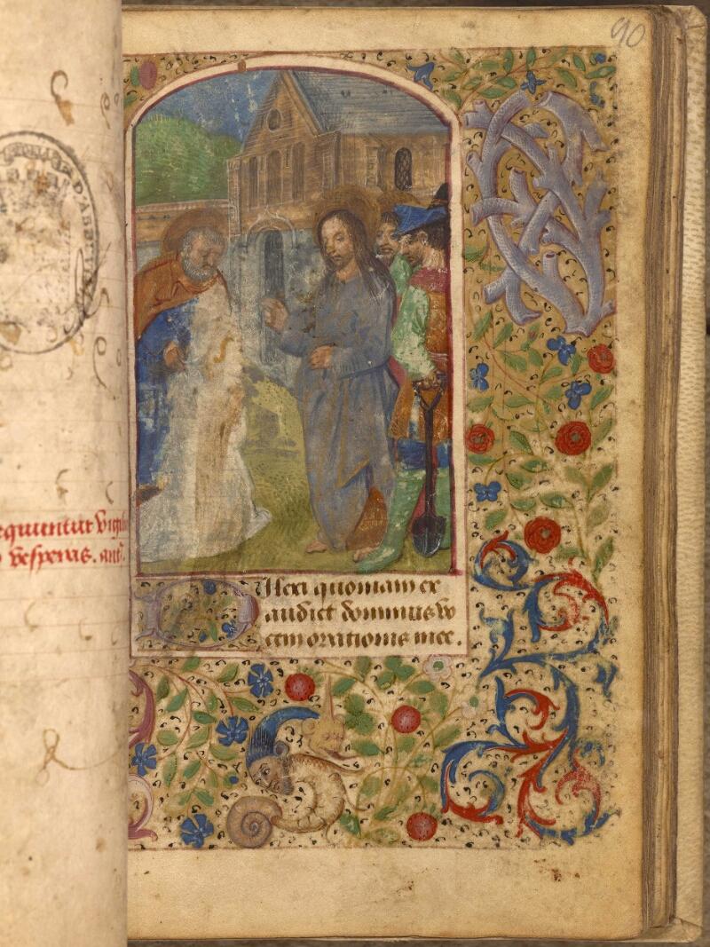 Abbeville, Bibl. mun., ms. 0012, f. 090 - vue 1