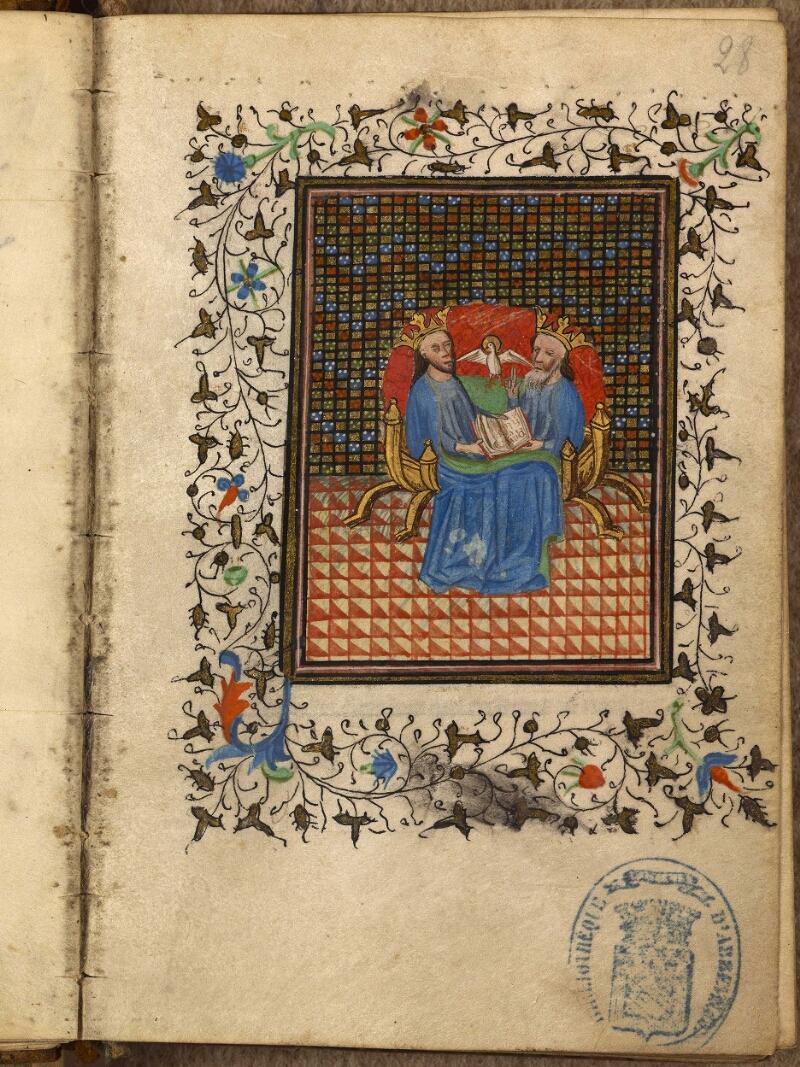 Abbeville, Bibl. mun., ms. 0013, f. 028 - vue 1