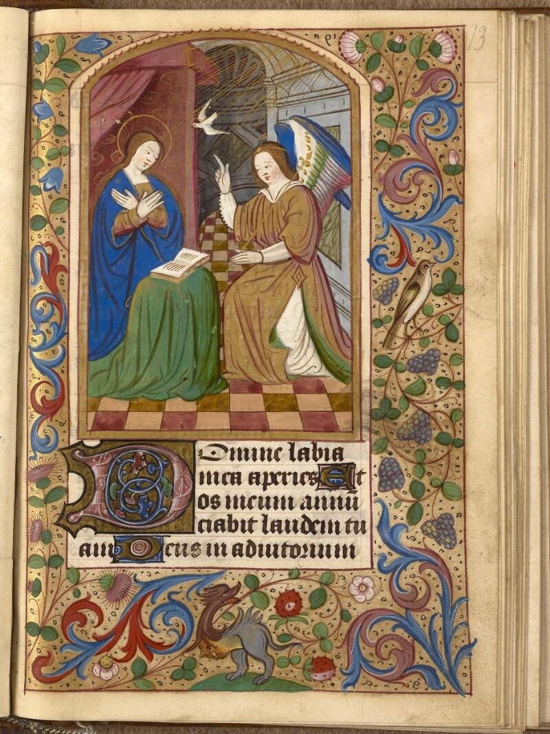 Abbeville, Bibl. mun., ms. 0014, f. 013 - vue 1