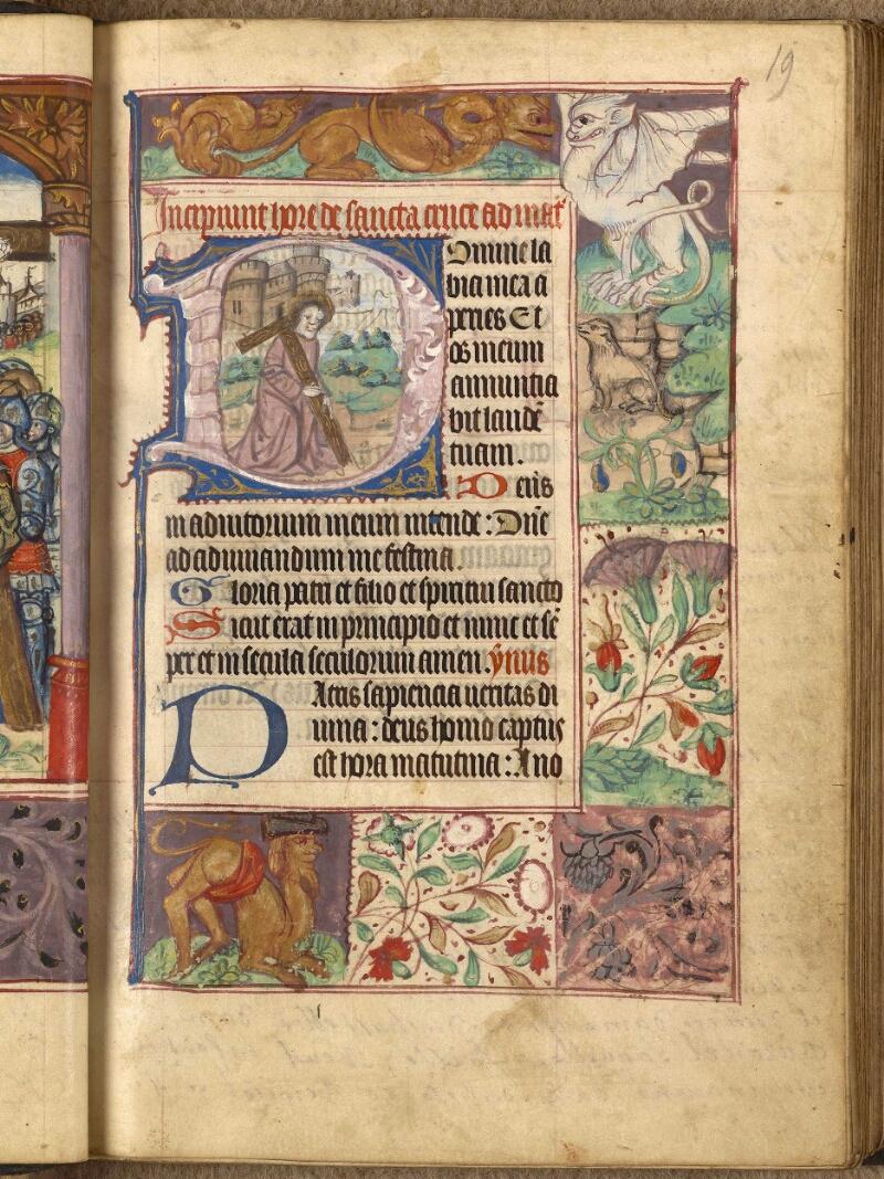 Abbeville, Bibl. mun., ms. 0015, f. 019 - vue 1