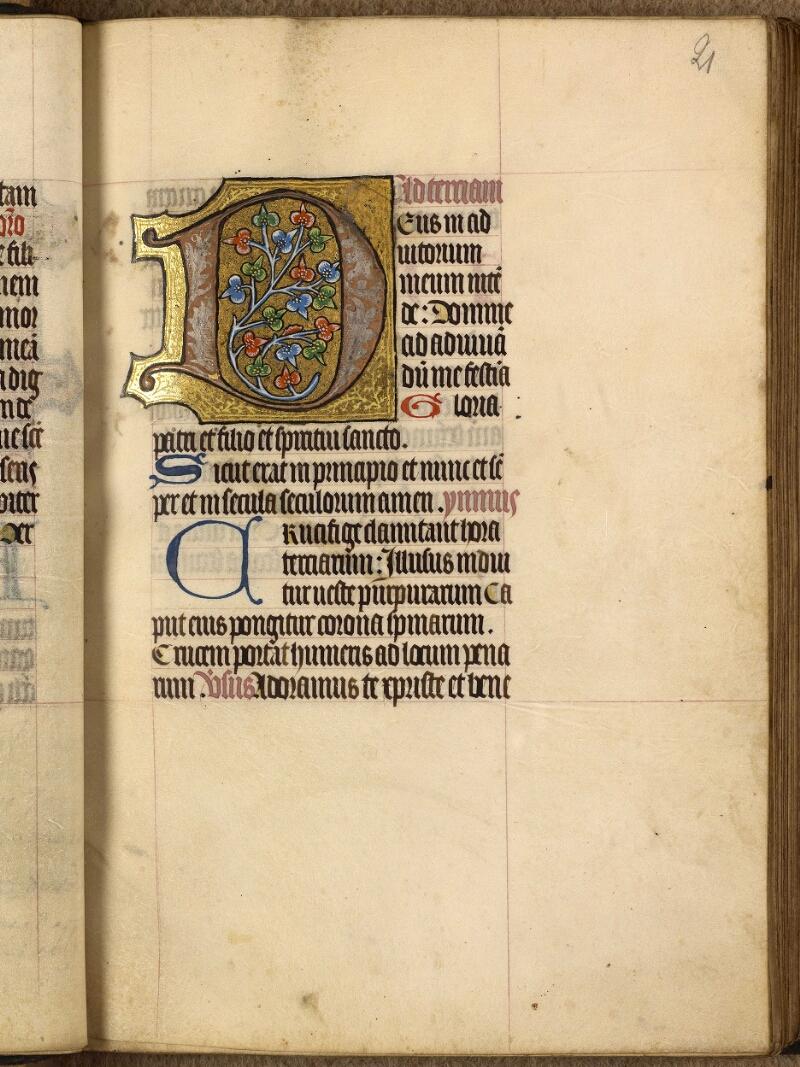 Abbeville, Bibl. mun., ms. 0015, f. 021 - vue 1