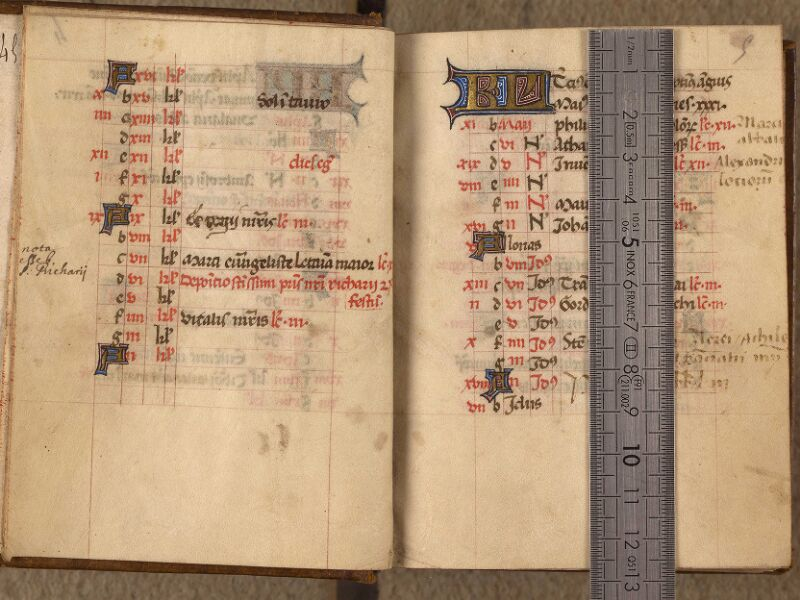 Abbeville, Bibl. mun., ms. 0017, f. 004v-005 - vue 1