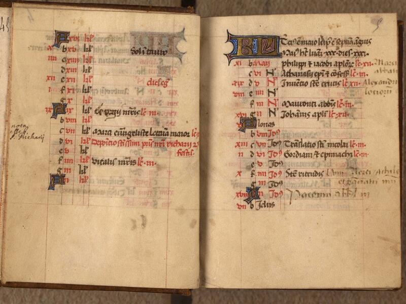Abbeville, Bibl. mun., ms. 0017, f. 004v-005 - vue 2