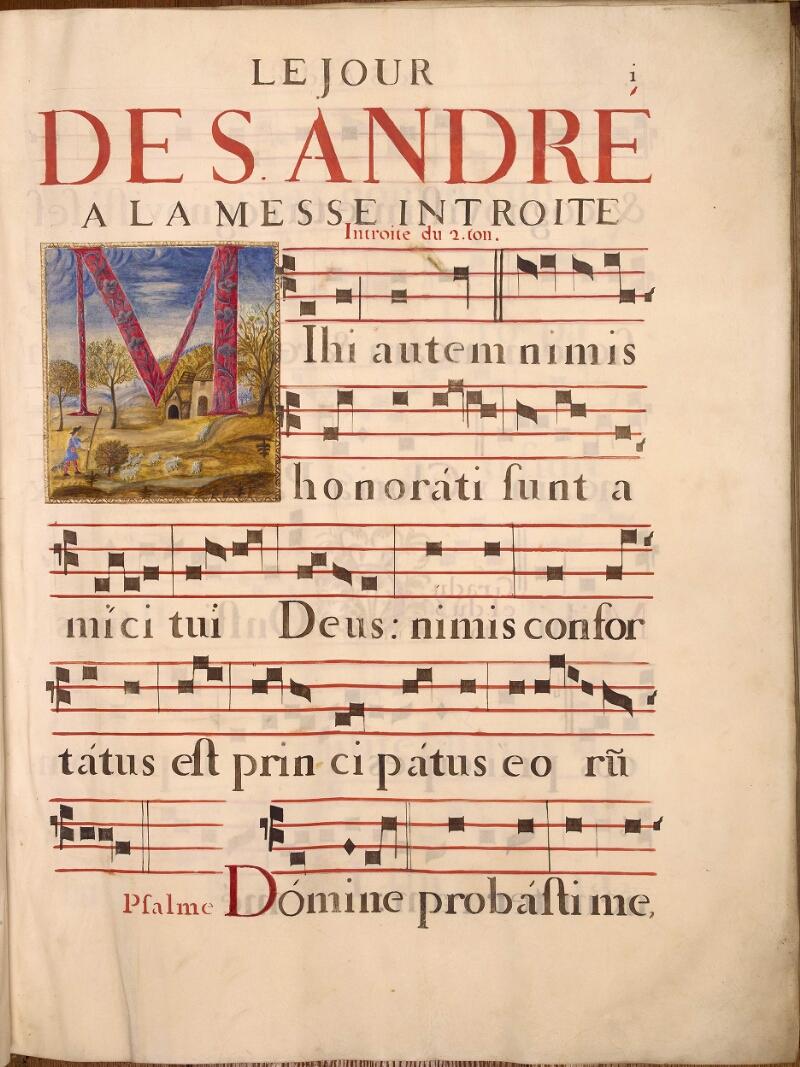 Abbeville, Bibl. mun., ms. 0021, p. 001 - vue 1